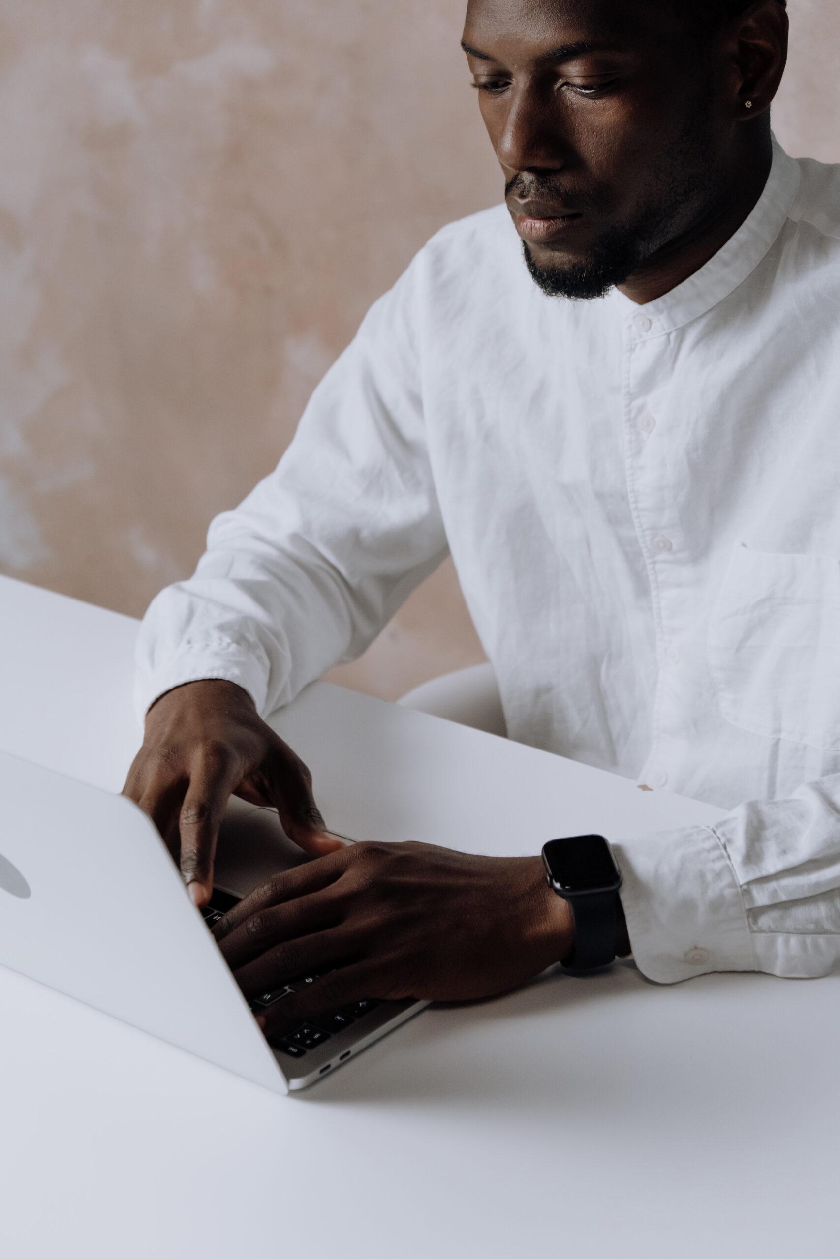 man-working-on-his-laptop